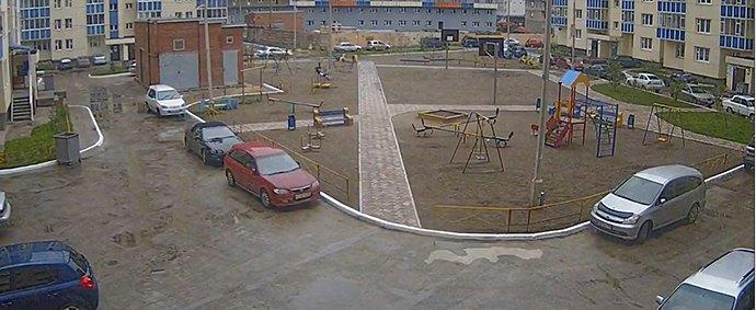 Система видеонаблюдения в жилых комплексах г. Красноярска