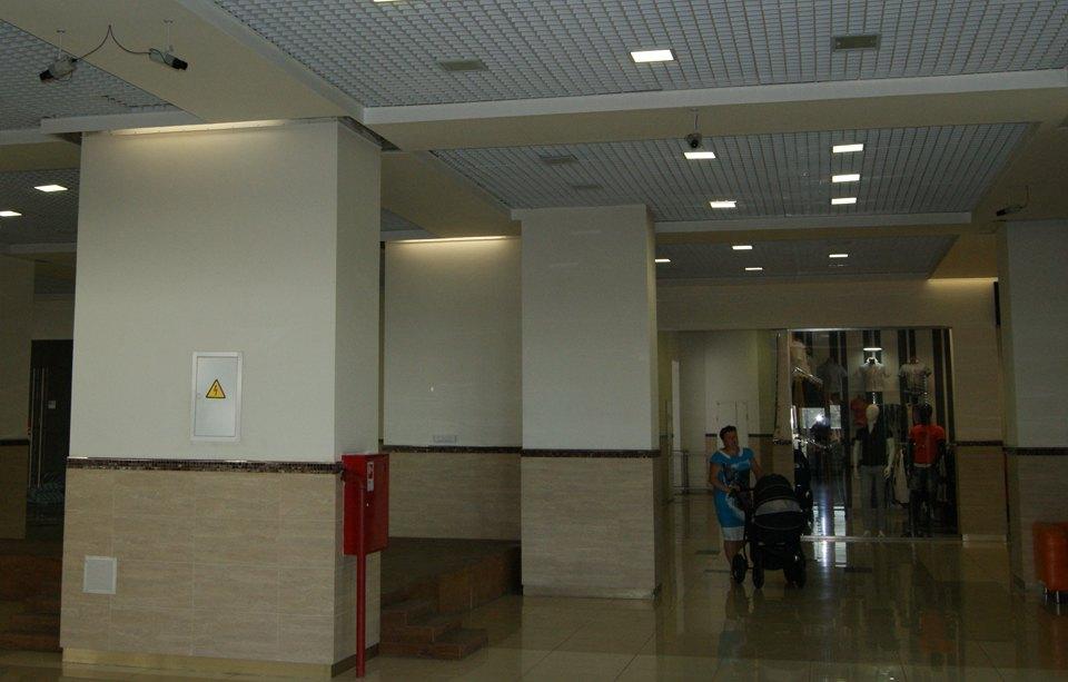 видеонаблюдение торгового центра Орех