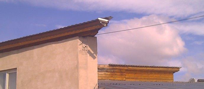 Камера BD4330-K12 на основном въезде в базу