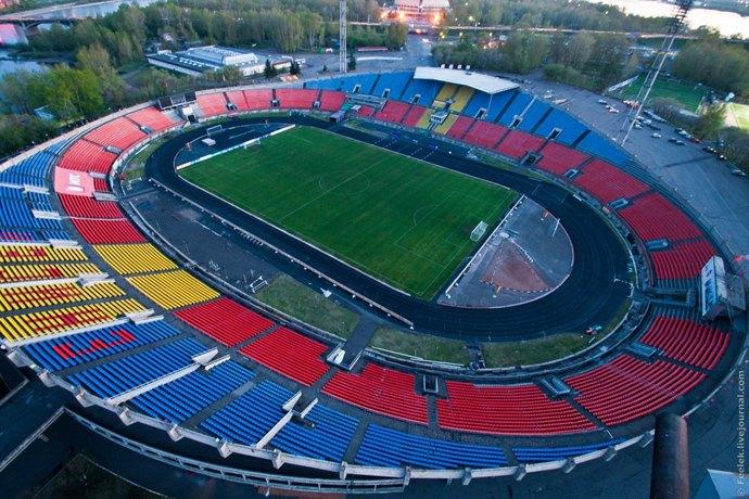 IP-камеры BEWARD на Центральном стадионе Красноярска