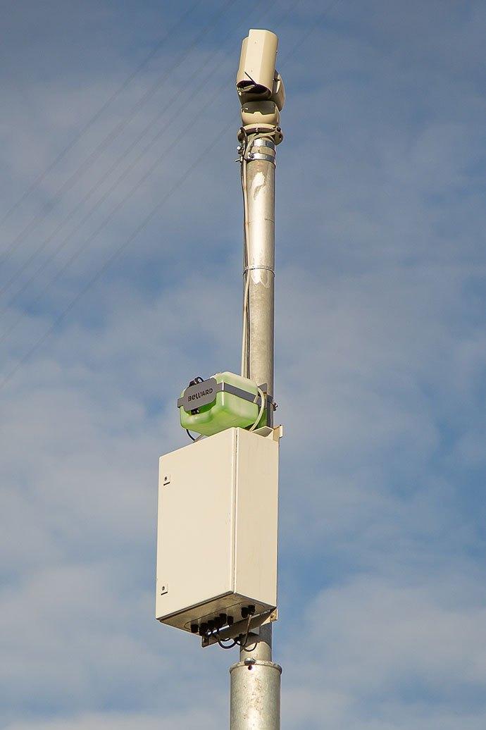 Установленные IP-камеры BEWARD