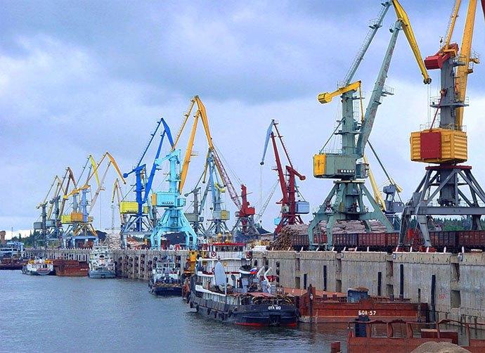 Лесосибирский порт